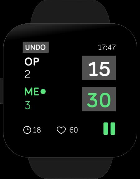 TennisTrkr app